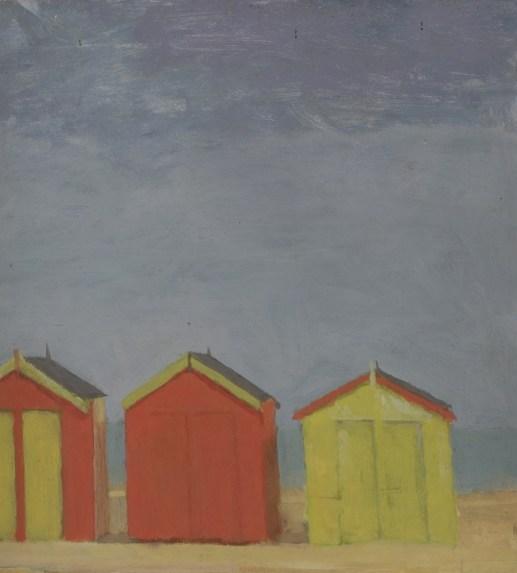 Fred Dubery (1926-2011), Southwold Huts