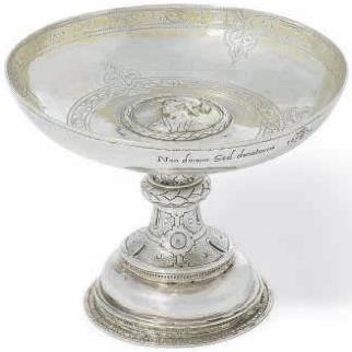 An Elizabeth I silver tazza from the David Little Collection