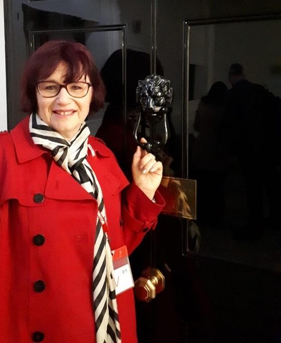 Jane Juran, organiser of The Decorative Antiques & Textiles Fair