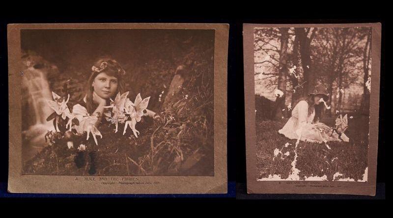 The Cottingley Fairy photographs