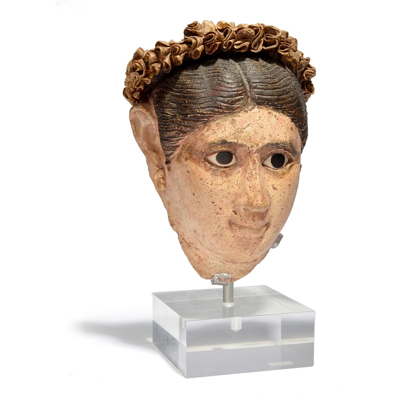 Egyptian head of a woman