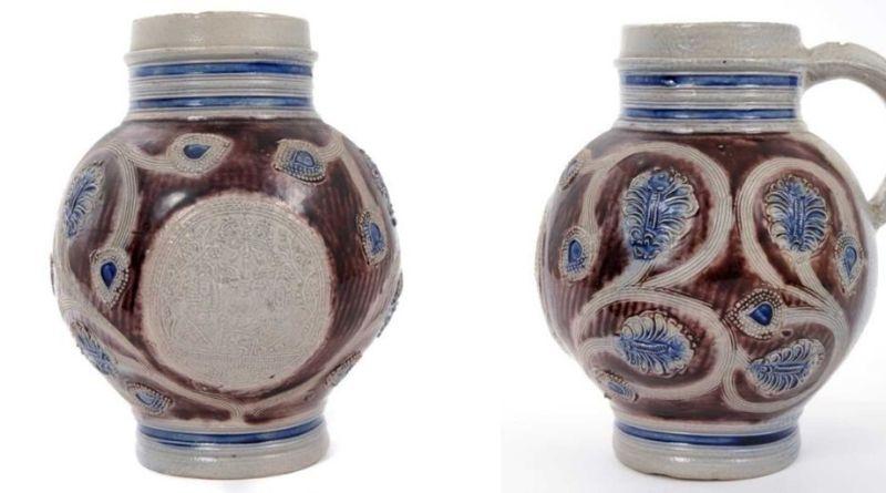 Westerwald stoneware jug