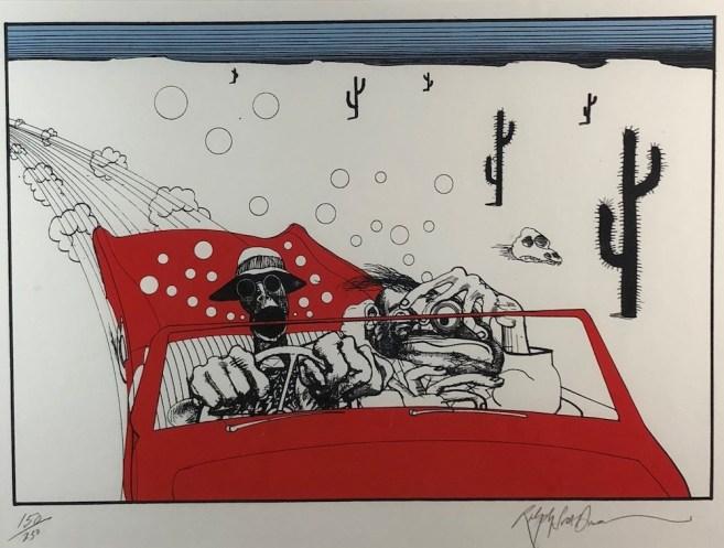 Ralpsh Steadman cartoon