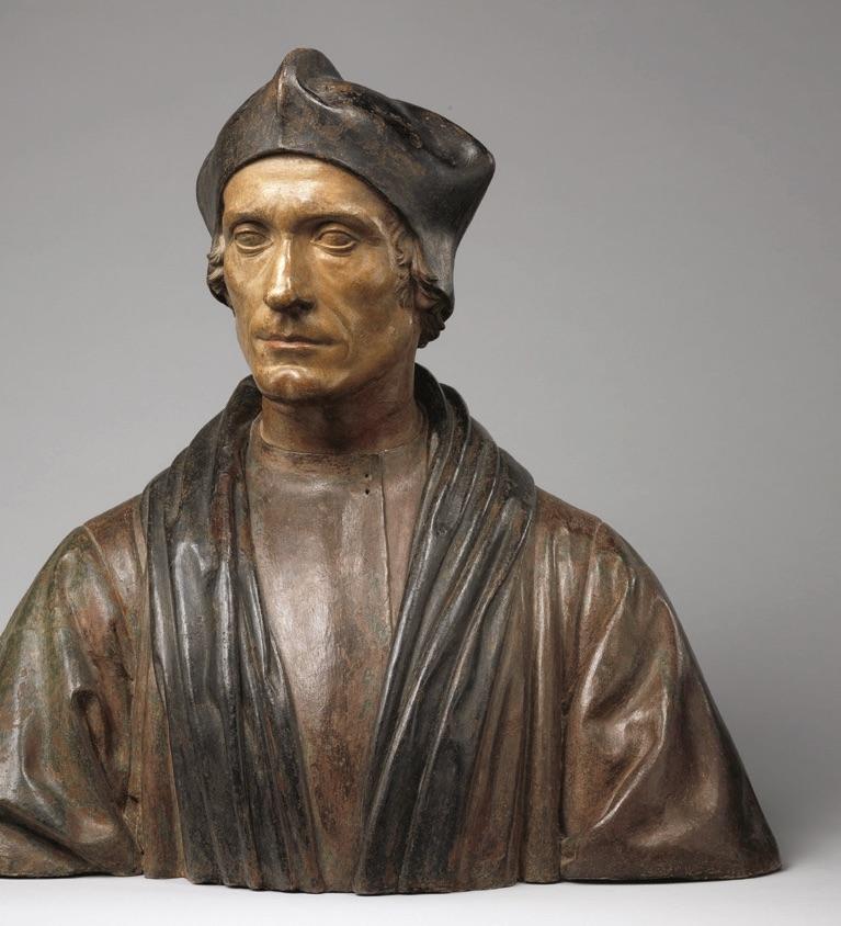 Bust in the Met's British Galleries