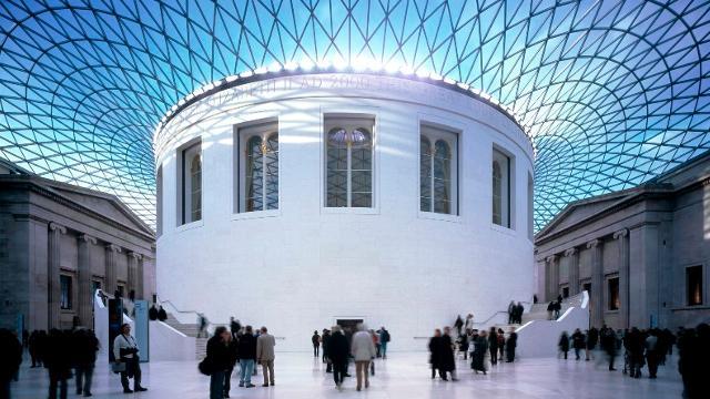 Courtyard of British Museum