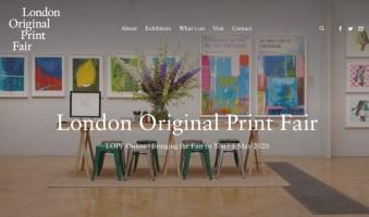 London Original Print Fair website