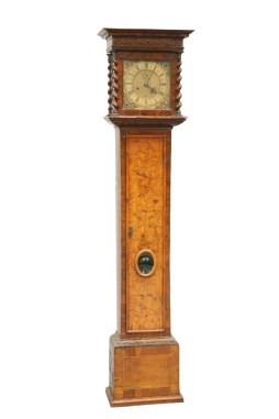 The Long case clock by Henry Jones