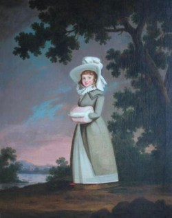 Portrait of Mary Anne St Quintin,