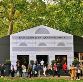 Visitors to the LAPADA Fair