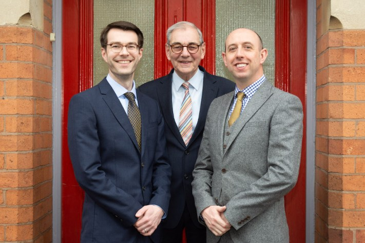 Will, John and Mark Gilding of Gildings Auctioneers
