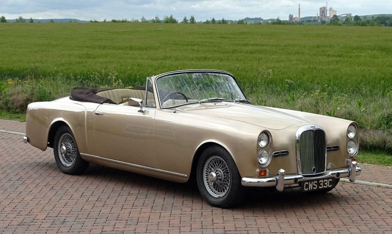 1965 Alvis drophead coupe
