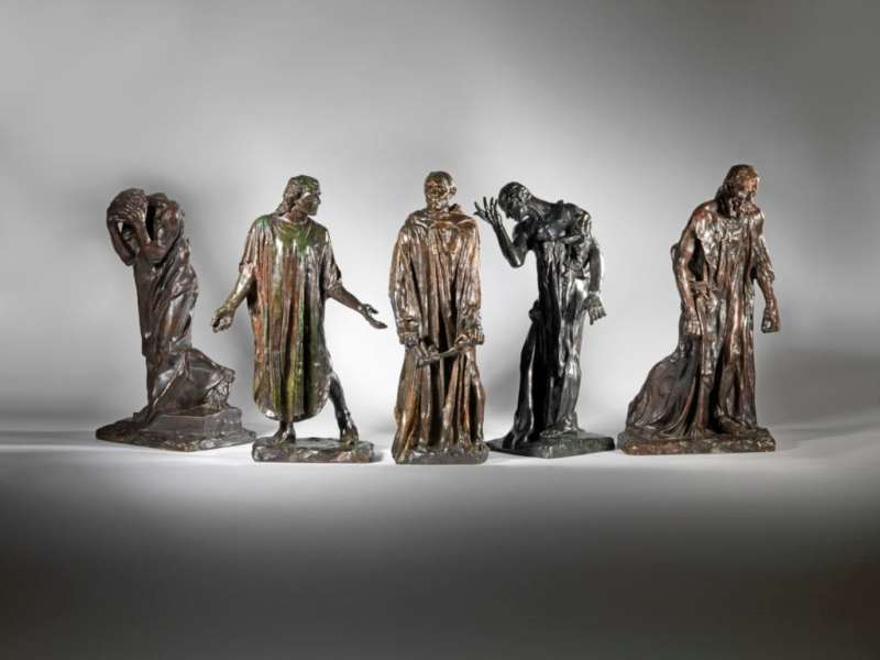 Auguste Rodin (France 1840 - 1917) The Burghers of Calais, 1884-1889