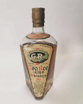 Geo Roe Irish Whiskey