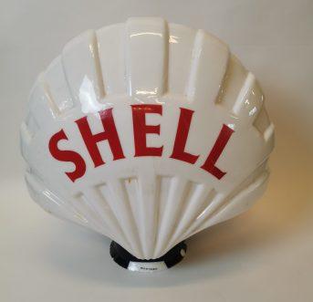 Shell advertising mirror