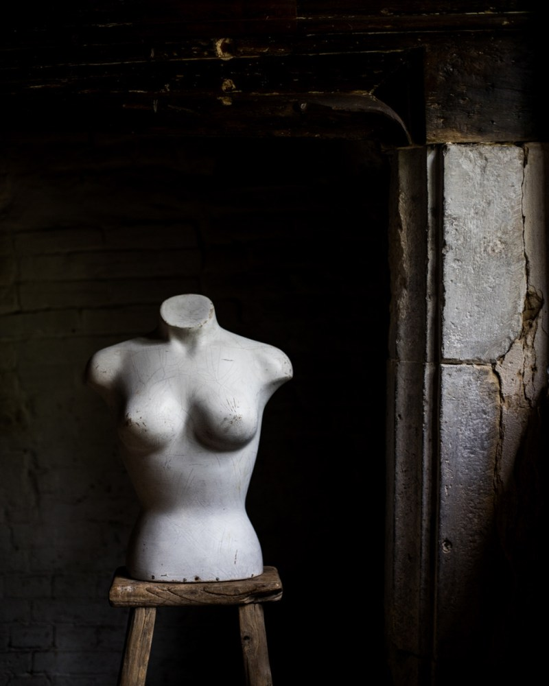 An antique mannequin from Hunt the Pearl