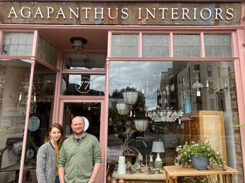 Zoe and Tom of Agapanthus Interiors