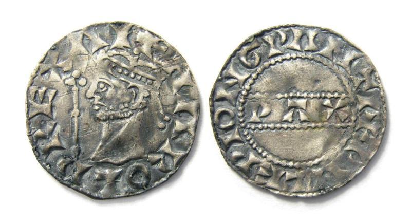 Harold II silver penny coin