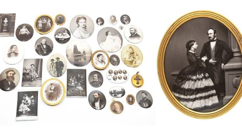 Portraits from Queen Victoria's court