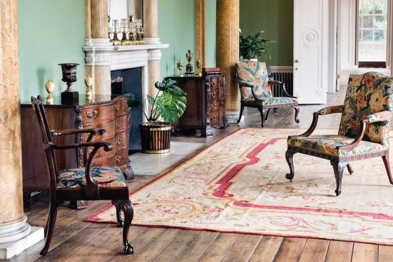 pair of George III mahogany commodes