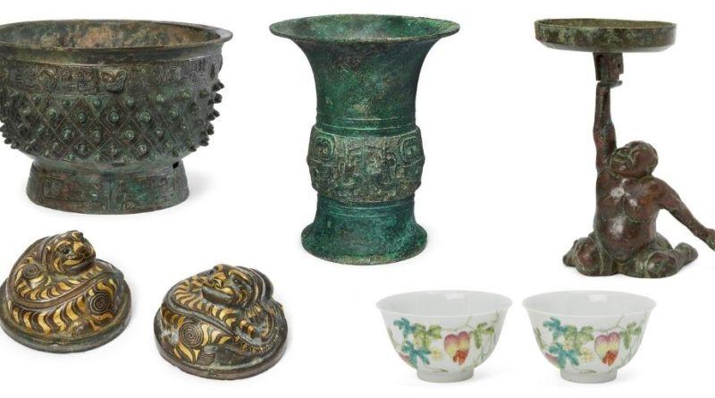 Asian Art items in Roseberys sale