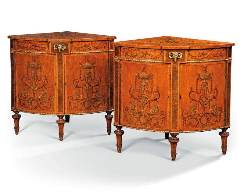 Leinster House cabinets, estimated at £40,000-60,000