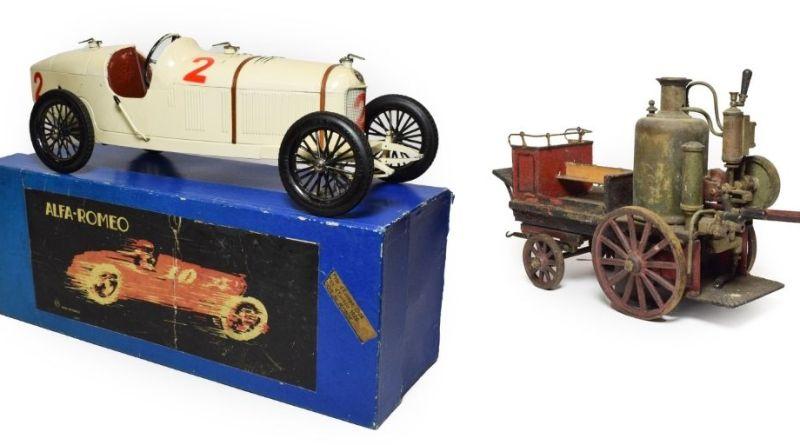 Vintage toy vehicles in Tennants sale