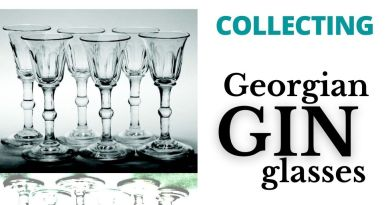Georgian gin glasses – start your collection