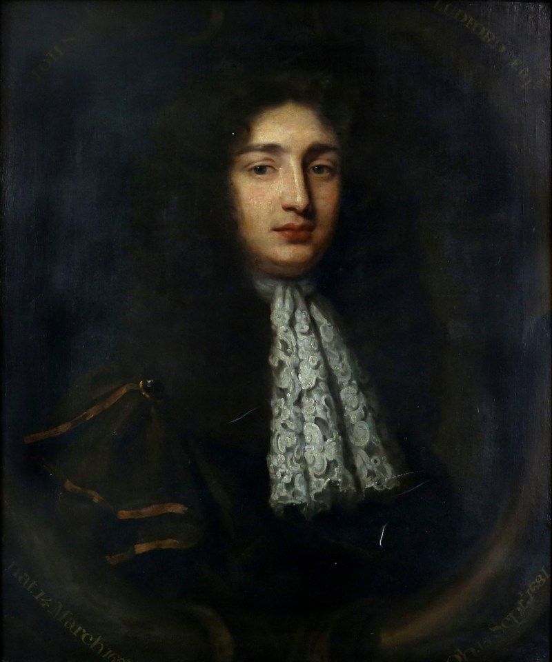 An oil-on-canvas portrait of John Ludford, which has been attributed to artist Mary Beale