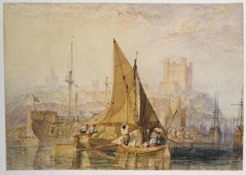 Rochester, on the River Medway 1822 Joseph Mallord William Turner