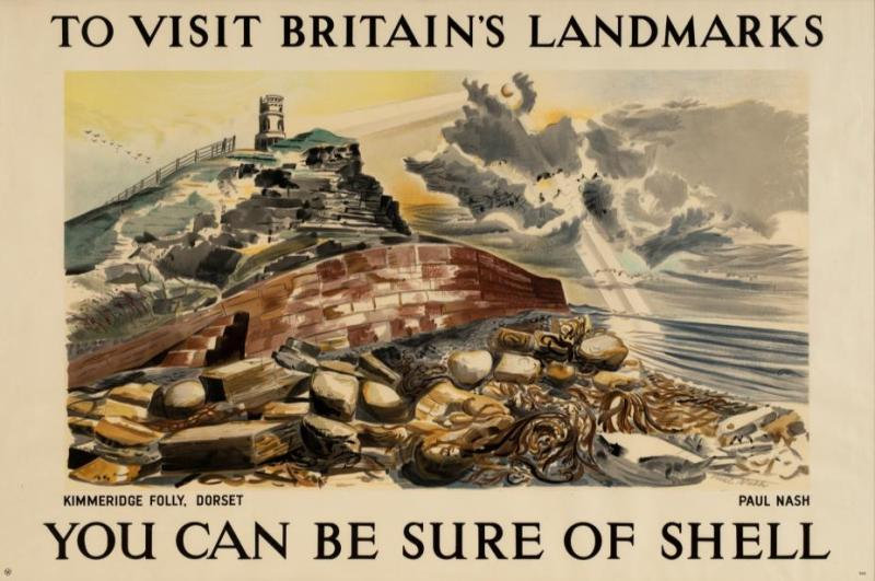 Paul Nash - You Can be Sure of Shell poster