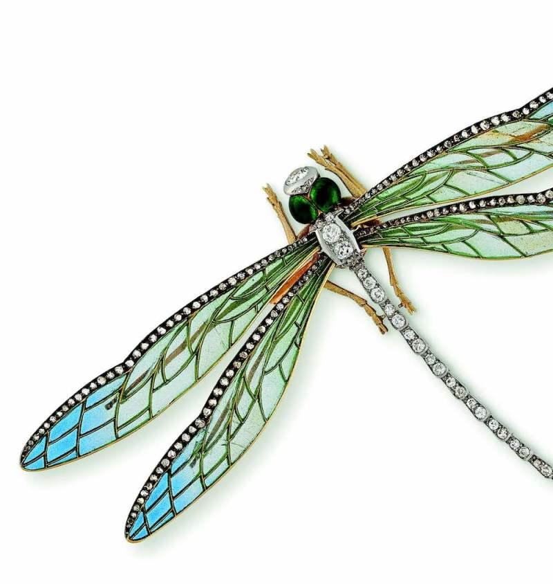 Boucheron dragonfoly brooch