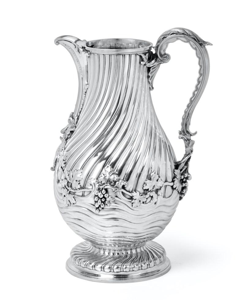 Thomas Heming silver wine jug