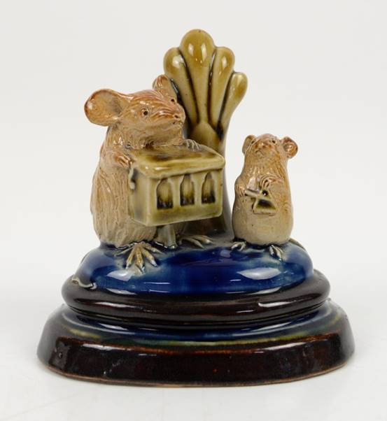 Ceramic mouse by Royal Doulton's George Tinworth
