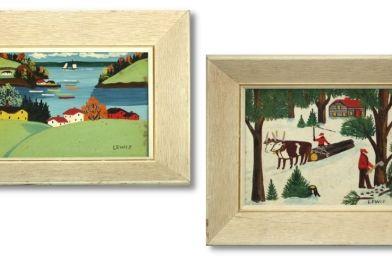 Maud Kathleen Lewis paintings make thousands
