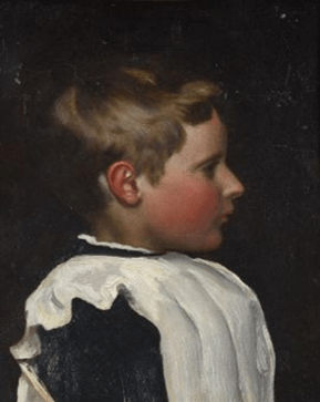 Frederica Lucy Cockerell, the artist's daughter, both in oil on panel. Samuel Pepys Cockerell (1844-1921). Estimate £1,000-£1,500 each
