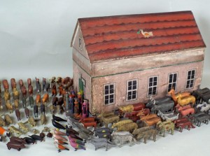 A Noah's Ark that recently sold at auction