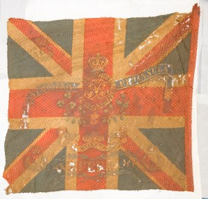 Flags from Battle of Waterloo