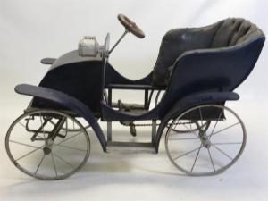 G& J Lines English made pedal car
