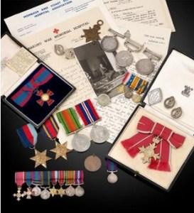 medals awarded to Principal Matron Ida Walden R.R.C O.B.E