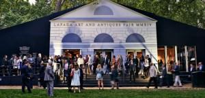 The LAPADA Fair at Berkeley Square, Mayfair, London