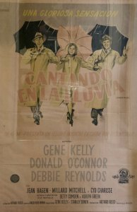 Argentinian film poster for Singin in the Rain