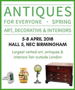 Antiques for Everyone NEC Birmingham advert