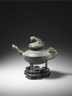 The antique Tiger Ying vessel