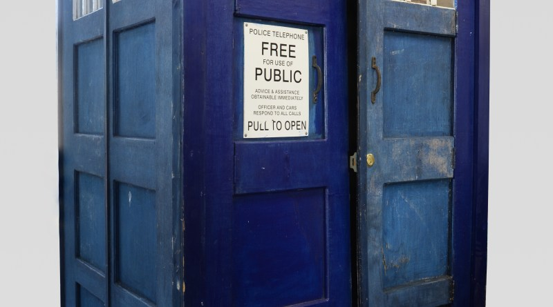 A full-size Tardis, standing 217cm tall, is going on sale at Ewbank's Entertainment and Memorabilia auction on May 31, with a guide price of between £3,000 and £5,000