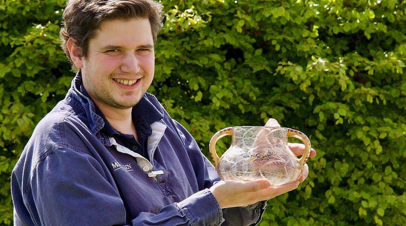 A vase by Émile Gallé