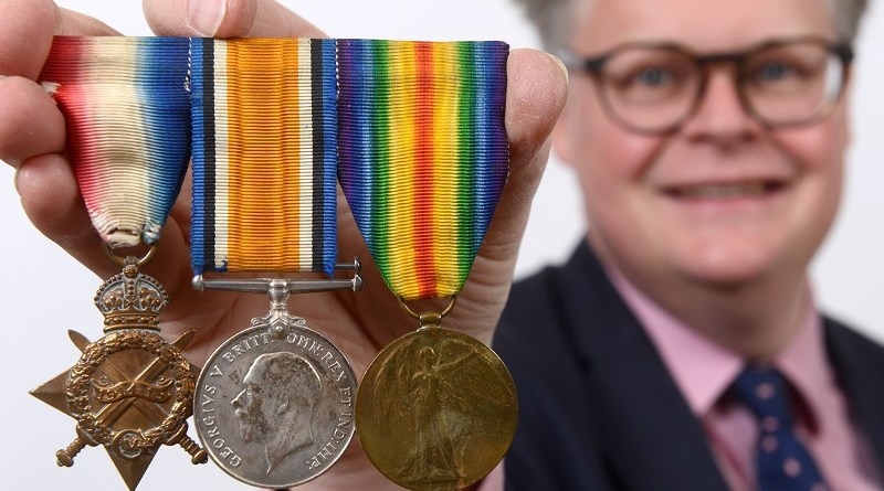 Richard Bromell and WWI medals