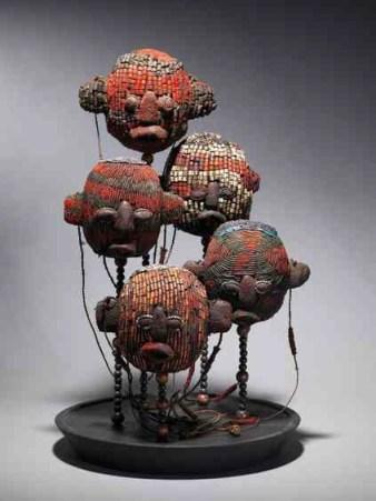 Tribal Art - Ceremonial Head Atwonzen