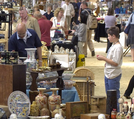 Antiques fair