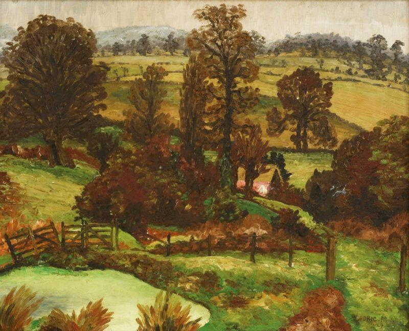 Cedric Morris - A Suffolk Landscape