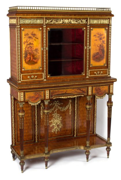 Cubberley House Collection - a 19th Century French ormolu cabinet in the Cotswolds country house sale